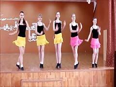 nenitas rusas bailando