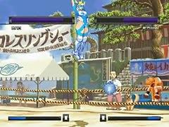 Bao VS rainbow mika hentai fight