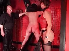 Amateur BDSM with two horny and dirty girls
